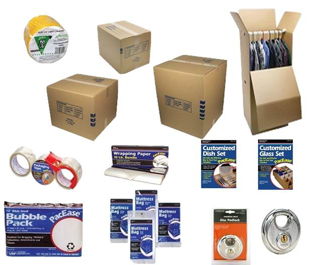 Moving and Storage Supplies