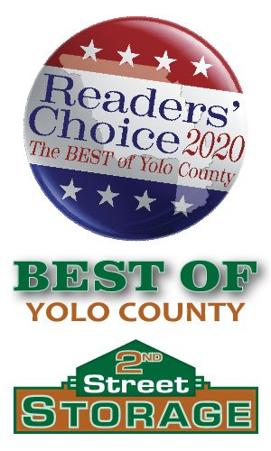 2nd Street Self Storage in Davis - Best of Yolo County